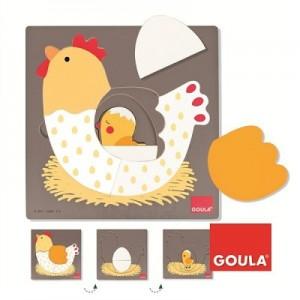 goula-encastrement-7-pieces-en-bois---puzzle-3-niveaux-poule.94499-1