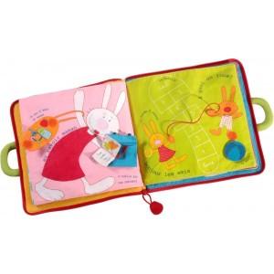 livre-en-tissu-lilliputiens-bonjour-petit-lapin