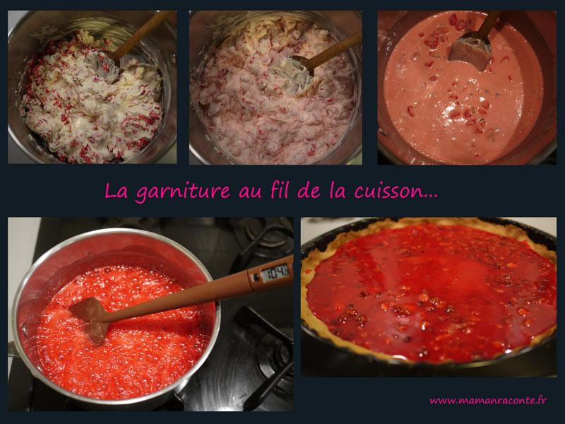 tarte aux praline - garniture2