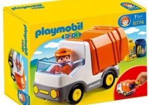 Camion poubelle playmobil 123 vers2