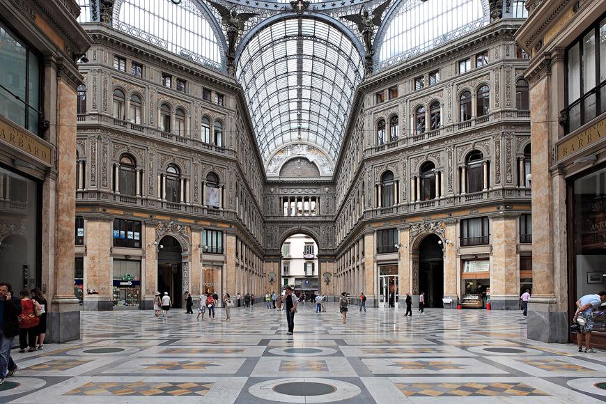 Naples gallerie Umberto I