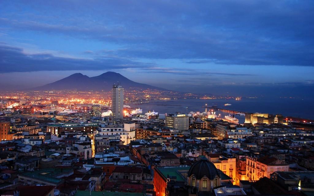 Naples sous le Vésuve
