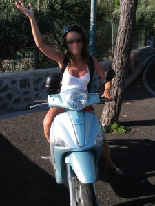 Scooter à Ischia