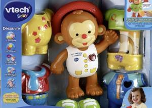 Jouets de voyage pour les enfants de 18 mois 36 mois 2 les cahiers de lucie rose - Petit singe rigolo ...