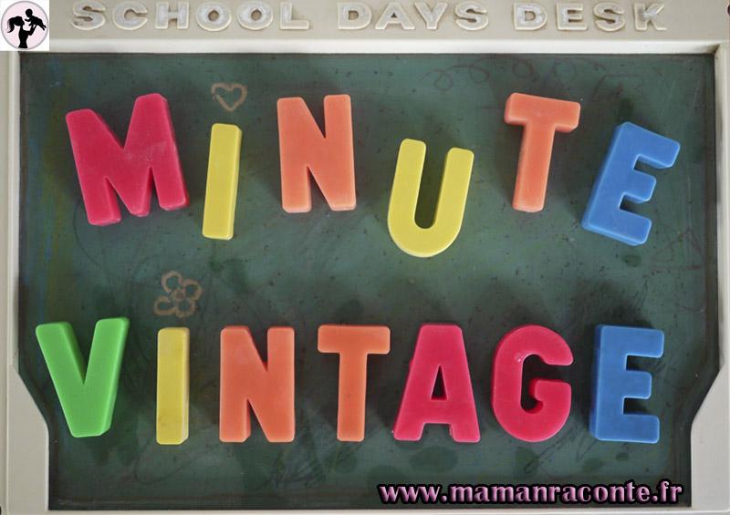 La minute vintage