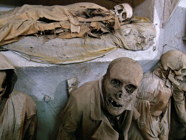 Crypte des Capucins - Palerme 7 (c) William Albert Allard