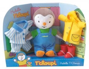 Tchoupi s'habille