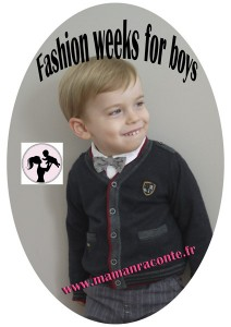 Fashion weeks for little boys - réveillon 2014
