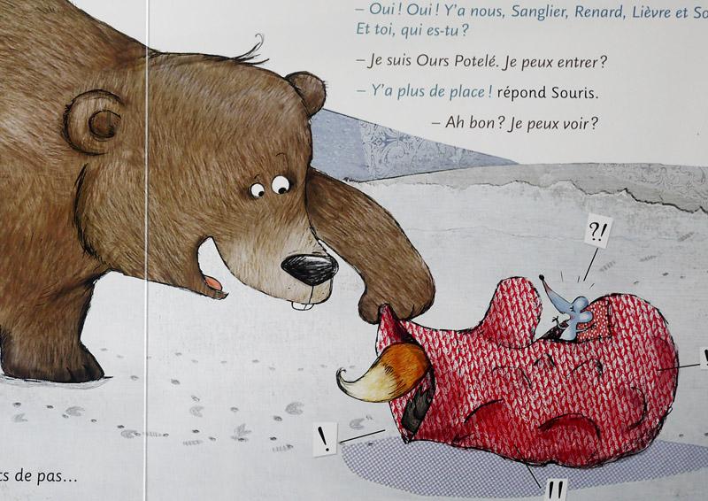 Beau design offrir des rabais Découvrez La Moufle [bibliothèque de Lutin #2] - Les cahiers de Lucie-Rose