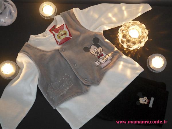 Pyjama de noël Disney petit garçon 2014
