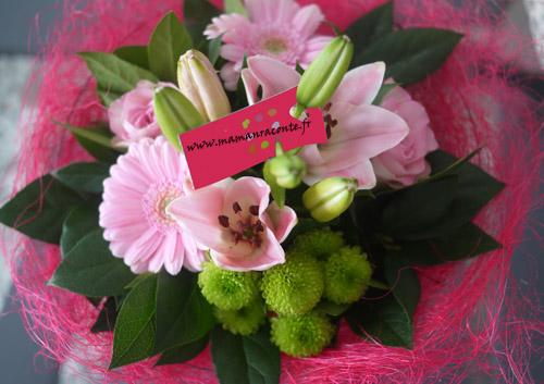 bouquet de fleurs saint valentin