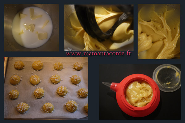 chouquettes au cooking chef3