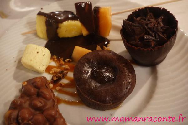 Assiette tout chocolat - Club Med des Boucaniers