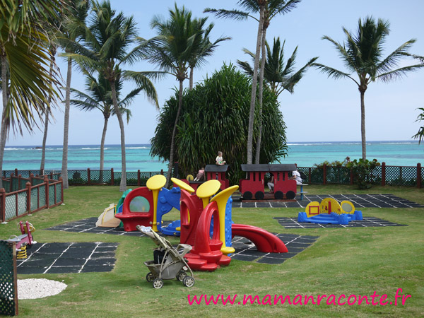 Club Med de Punta Cana - jardin Baby Club
