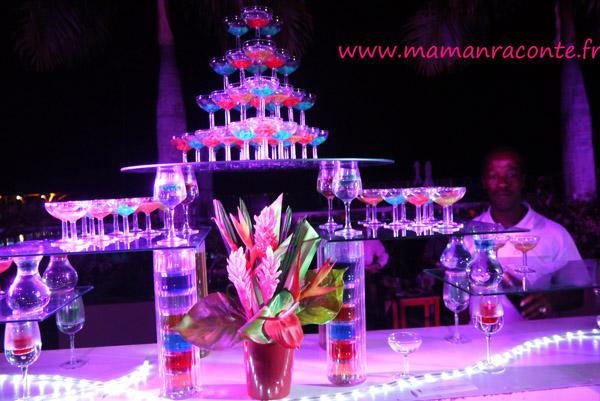 Fontaine de cocktail - Club Med des Boucaniers