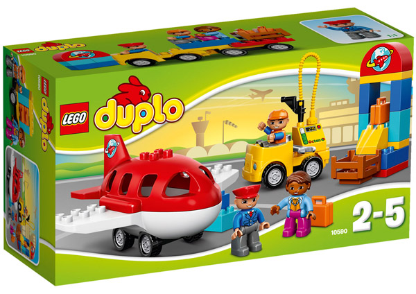 boite Lego Duplo aéroport