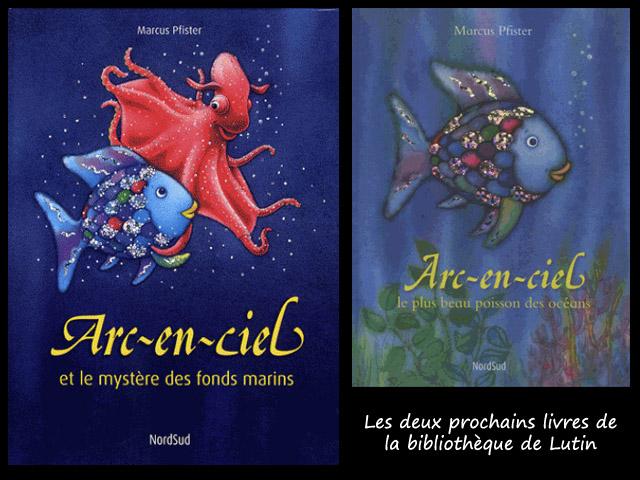 Livre poisson Arc-en-ciel