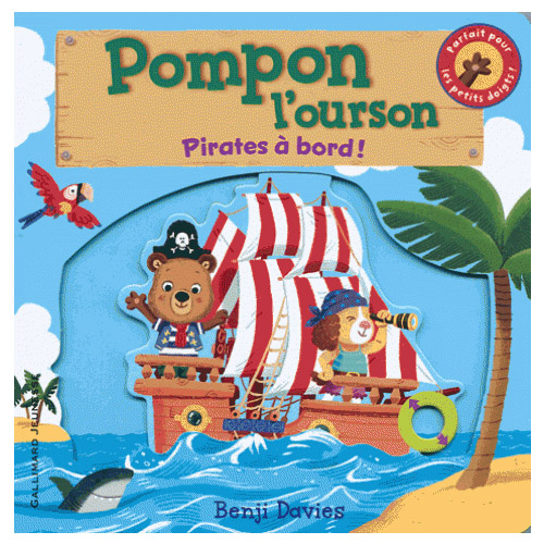 Pompon l'ourson pirates à bord