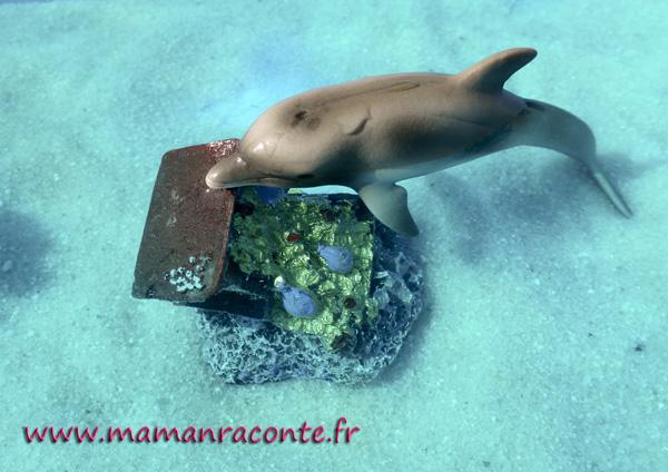 bac sensoriel de la mer - enfant 5