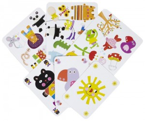 8. cartes minimatch Djeco