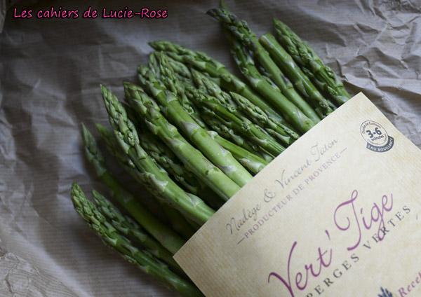 Cake asperges vertes et parmesan 1 - les cahiers de Lucie-Rose