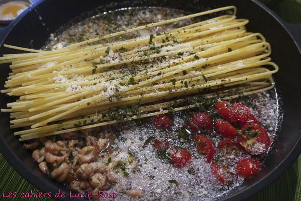 One-Pot Pasta aux crevettes grises 2