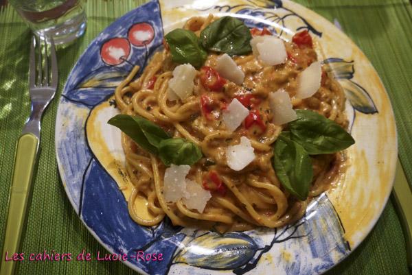 One-Pot Pasta aux crevettes grises 4