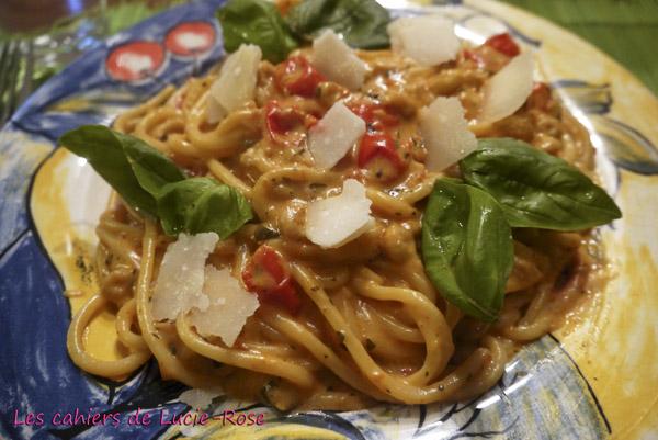 One-Pot Pasta aux crevettes grises 5