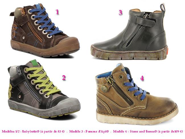 5. look rentrée garçon - Sélection chaussures