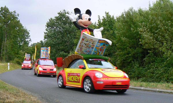 Caravane tour de france 2015-Mickey