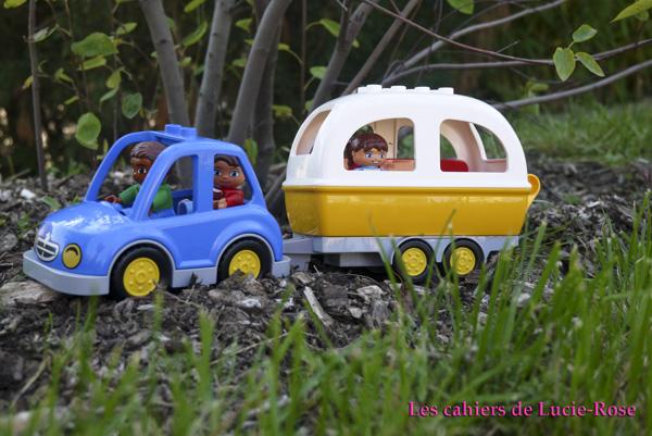 1. L'aventure camping Lego DUPLO - les cahiers de Lucie-Rose