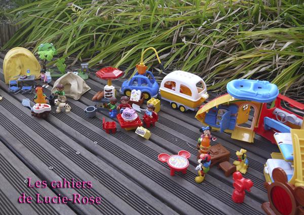 11. L'aventure camping Lego DUPLO - les cahiers de Lucie-Rose