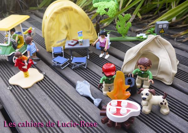 12. L'aventure camping Lego DUPLO - les cahiers de Lucie-Rose