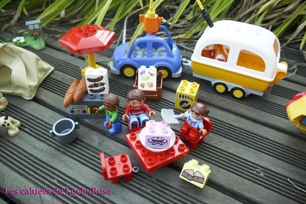 13. L'aventure camping Lego DUPLO - les cahiers de Lucie-Rose