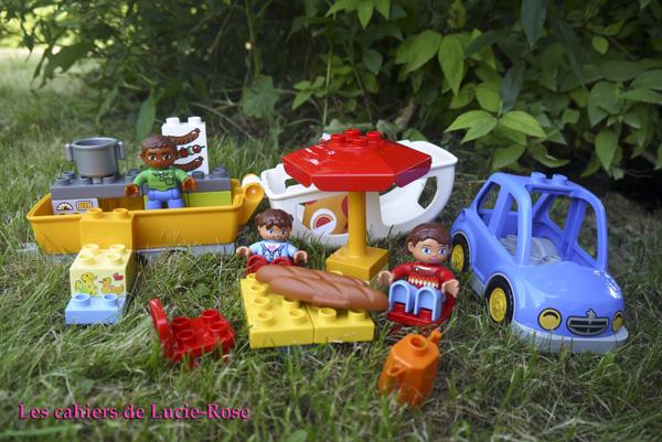 2. L'aventure camping Lego DUPLO - les cahiers de Lucie-Rose