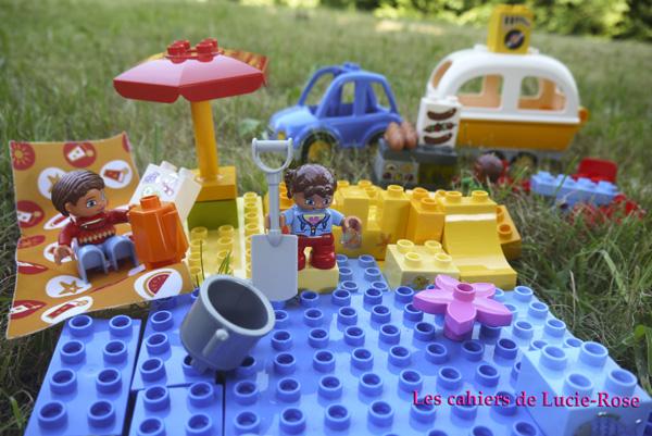 3. L'aventure camping Lego DUPLO - les cahiers de Lucie-Rose