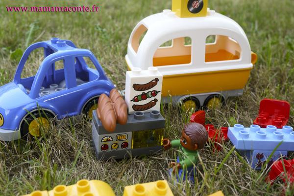 4. L'aventure camping Lego DUPLO - les cahiers de Lucie-Rose