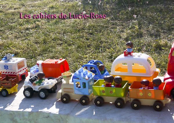 5. L'aventure camping Lego DUPLO - les cahiers de Lucie-Rose