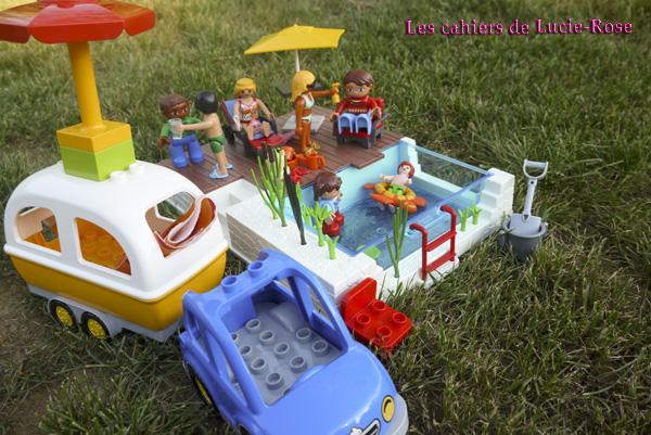 6. L'aventure camping Lego DUPLO - les cahiers de Lucie-Rose