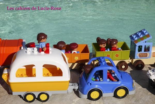 7. L'aventure camping Lego DUPLO - les cahiers de Lucie-Rose
