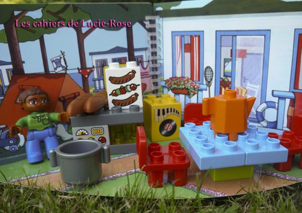 9. L'aventure camping Lego DUPLO - les cahiers de Lucie-Rose