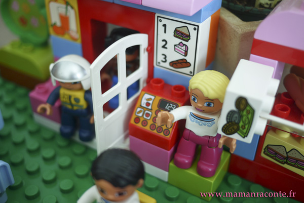 Le café DUPLO 10587 vu par Lucie-Rose - photo 1