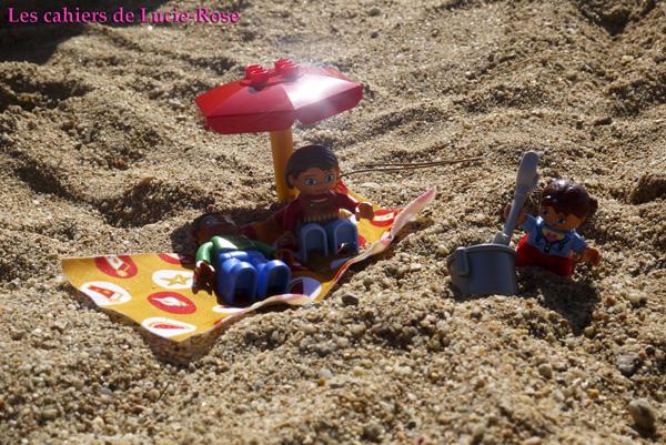 Les Lego Duplo en Sardaigne - Les cahiers de Lucie-Rose 7