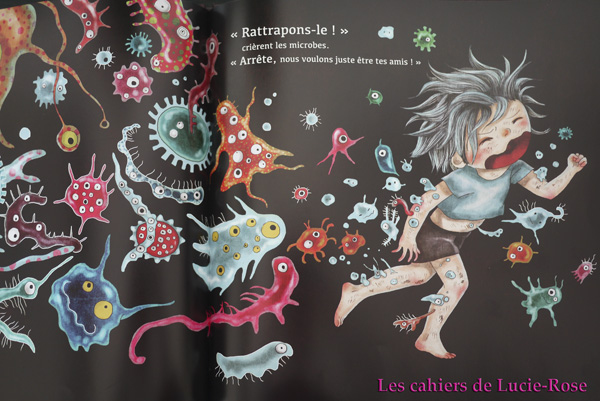 Ludo le crado - éditions Nuinui - Les cahiers de Lucie-Rose 3