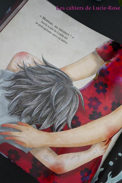 Ludo le crado - éditions Nuinui - Les cahiers de Lucie-Rose 5