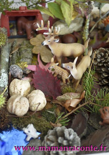 Bac sensoriel de la forêt 11 © les cahiers de Lucie-Rose