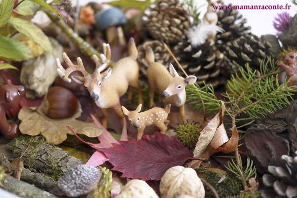 Bac sensoriel de la forêt 5 © les cahiers de Lucie-Rose