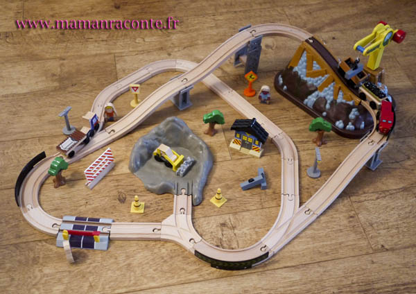 1. Circuit de train kidkraft - Les cahiers de lucie-Rose