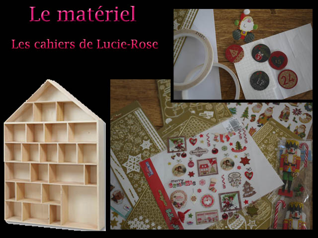 2. DIY calendrier de l'avent (c) Les cahiers de Lucie-Rose