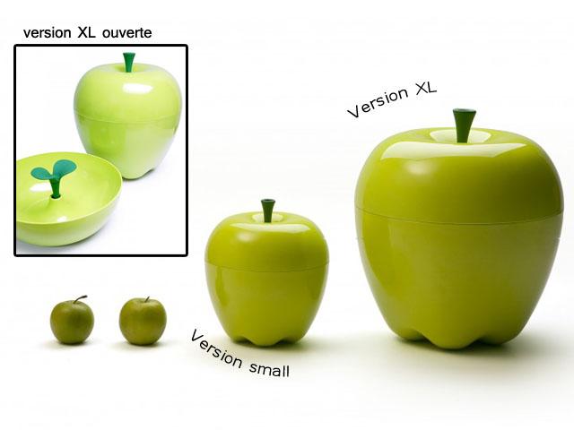 3. Boite en forme de pomme vintage - les cahiers de Lucie-Rose
